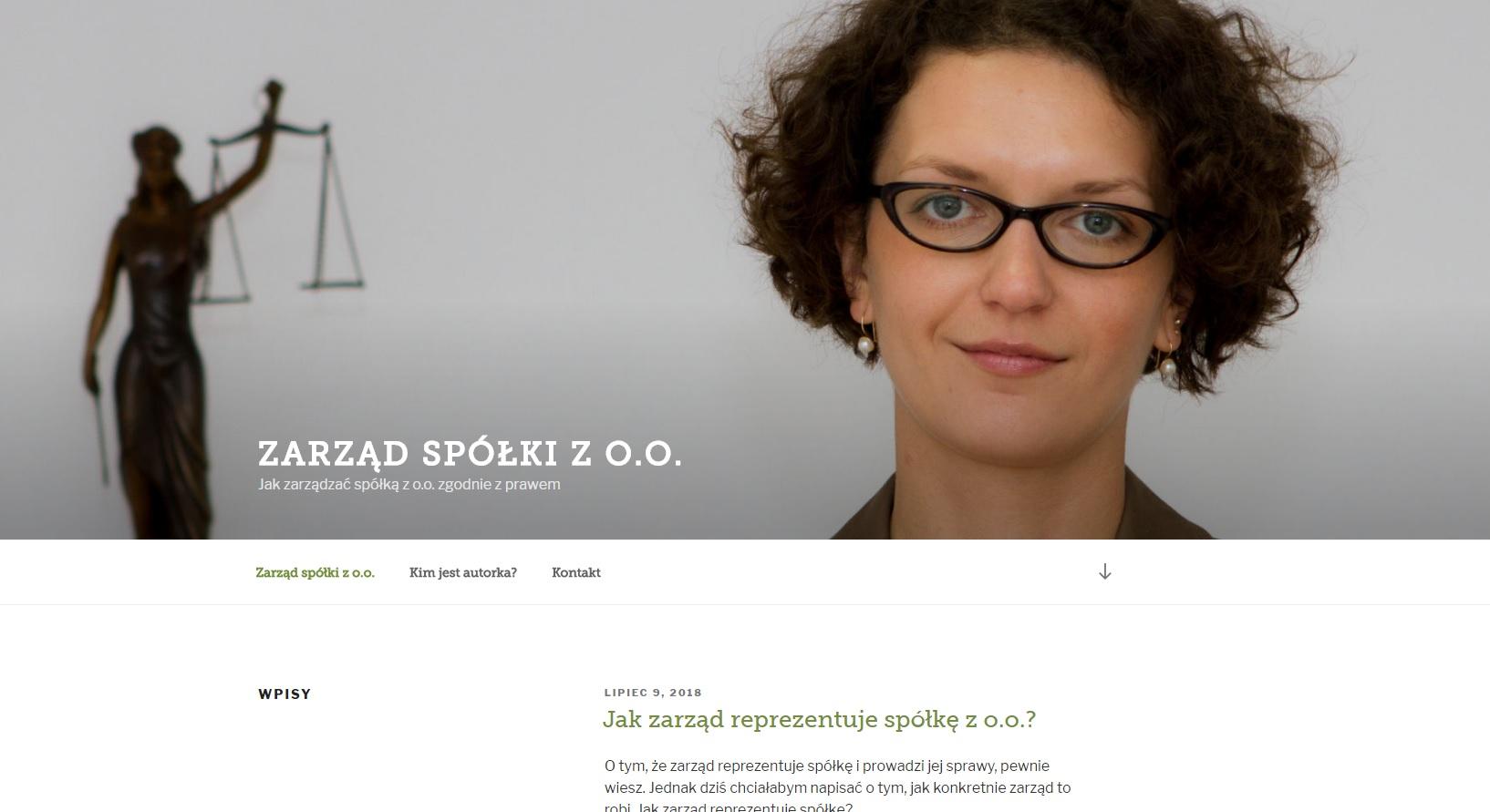 Agata Klima-Nowak zarząd spółki z o.o.